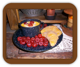 Breakfast Candle Garden
